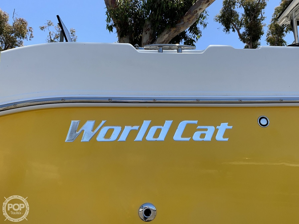 2001 World Cat boat for sale, model of the boat is 266 Sport Cuddy & Image # 38 of 40