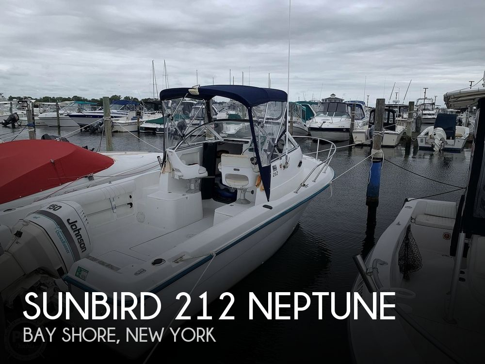 1998 Sunbird boat for sale, model of the boat is 212 Neptune & Image # 1 of 40