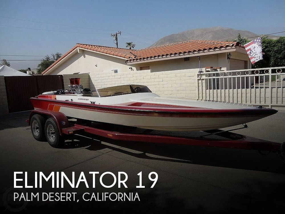 1992 Eliminator boat for sale, model of the boat is 19 Jet Drive & Image # 1 of 40