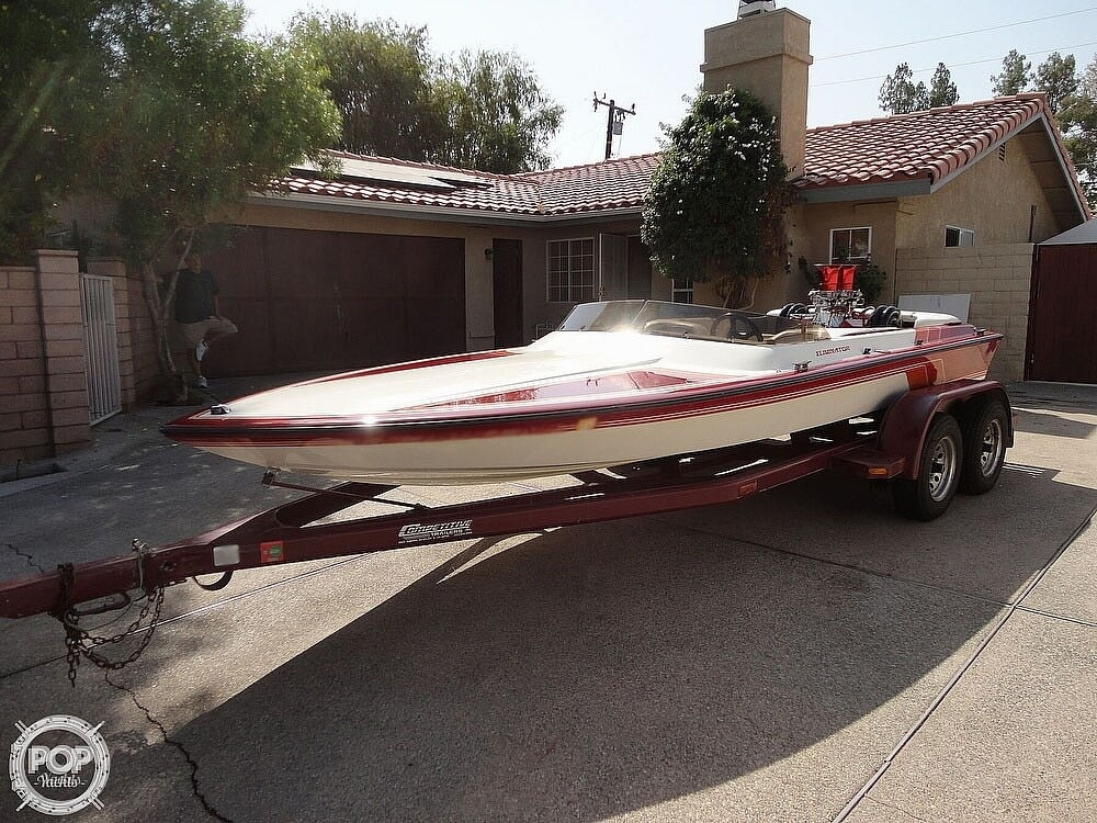 1992 Eliminator boat for sale, model of the boat is 19 Jet Drive & Image # 3 of 40