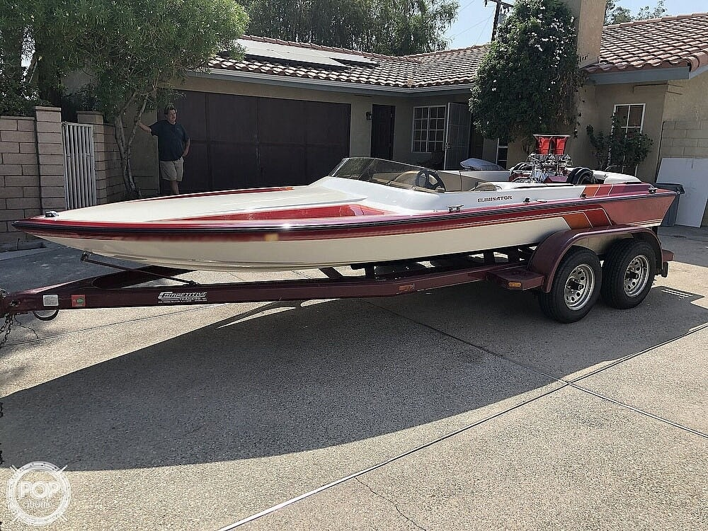 1992 Eliminator boat for sale, model of the boat is 19 Jet Drive & Image # 8 of 40