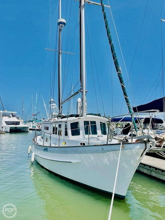1976 Fales boat for sale, model of the boat is Navigator 38T & Image # 2 of 40