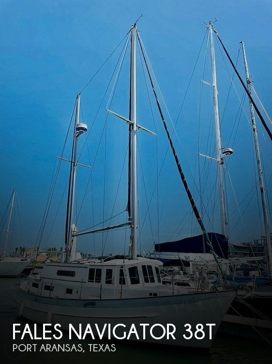 1976 Fales boat for sale, model of the boat is Navigator 38T & Image # 1 of 40