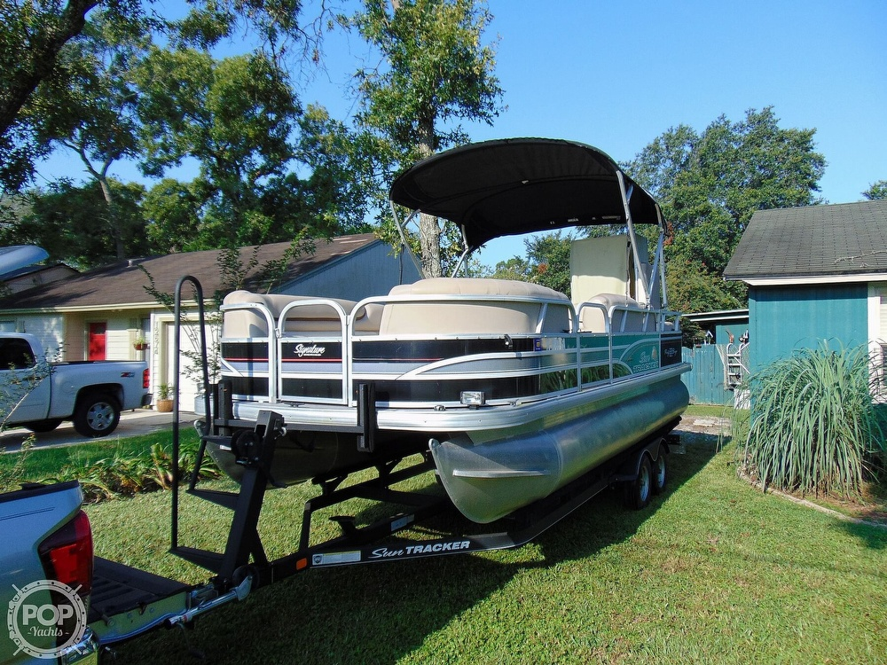 2015 Sun Tracker boat for sale, model of the boat is 22 DLX Party Barge & Image # 7 of 40