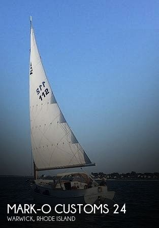 1980 Mark-O Customs boat for sale, model of the boat is ATLANTIC CITY CAT BOAT 24 & Image # 1 of 40