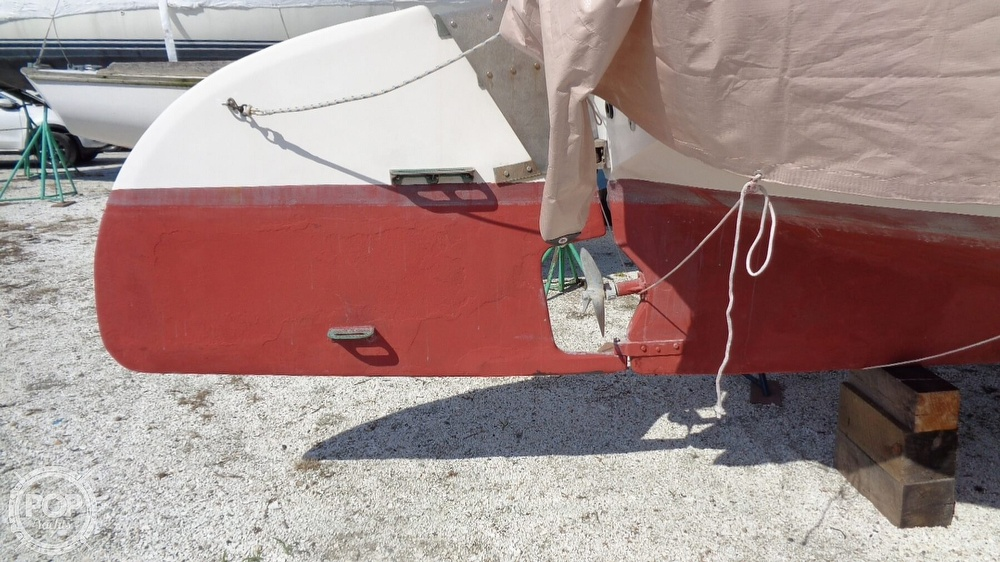 1980 Mark-O Customs boat for sale, model of the boat is ATLANTIC CITY CAT BOAT 24 & Image # 10 of 40