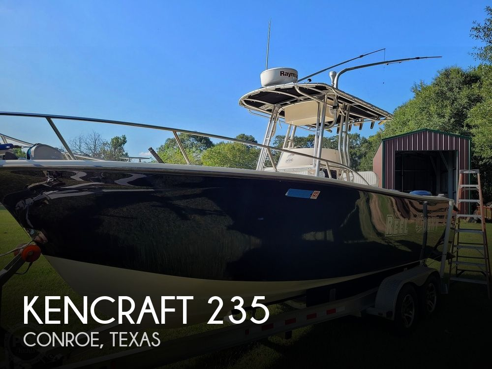 2001 Kencraft boat for sale, model of the boat is 235 Challenger & Image # 1 of 40