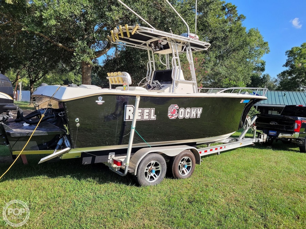 2001 Kencraft boat for sale, model of the boat is 235 Challenger & Image # 11 of 40