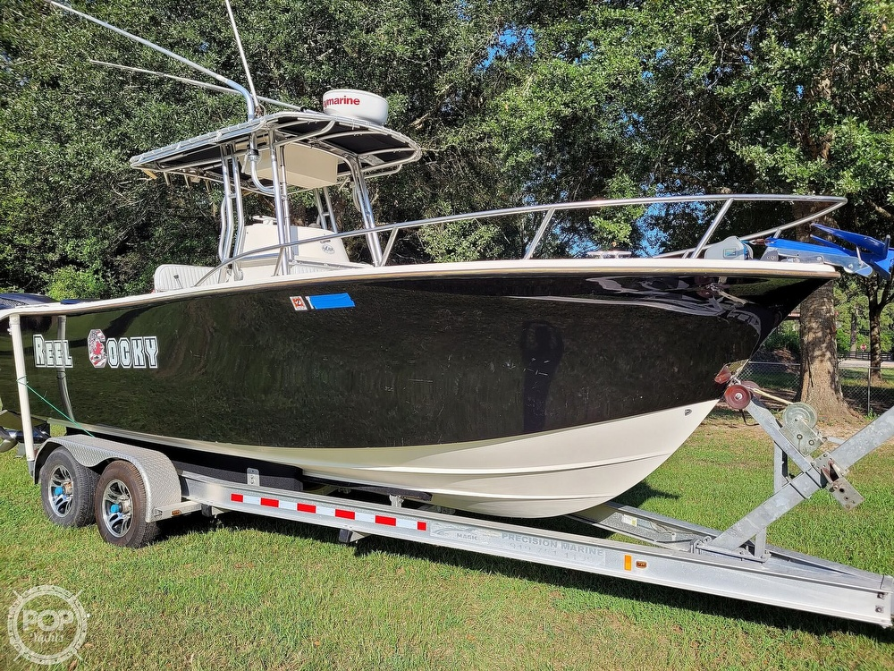 2001 Kencraft boat for sale, model of the boat is 235 Challenger & Image # 25 of 40