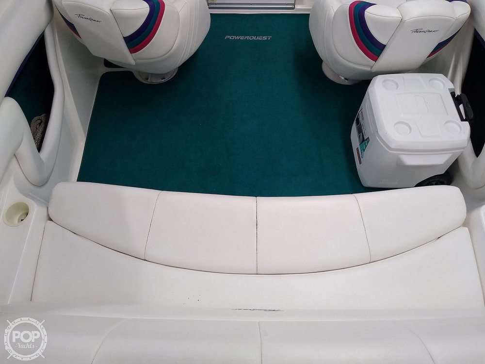 1997 Powerquest boat for sale, model of the boat is Precept 240 SX & Image # 35 of 40