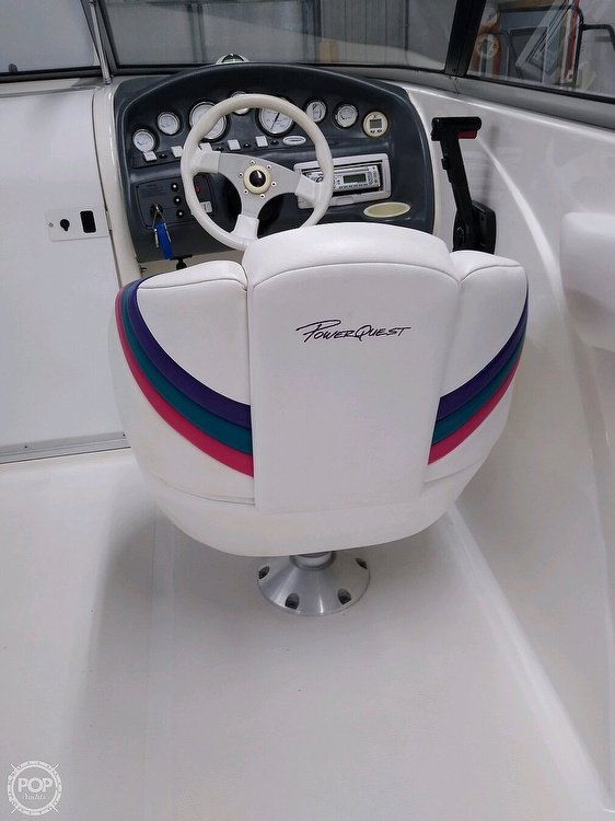 1997 Powerquest boat for sale, model of the boat is Precept 240 SX & Image # 14 of 40