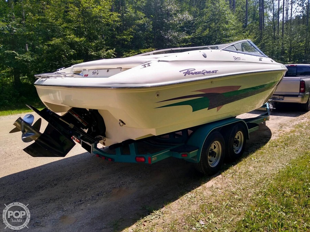 1997 Powerquest boat for sale, model of the boat is Precept 240 SX & Image # 21 of 40