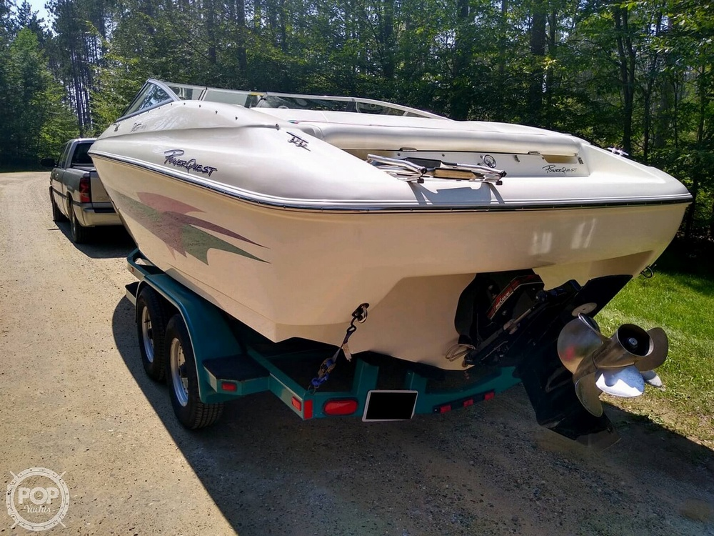 1997 Powerquest boat for sale, model of the boat is Precept 240 SX & Image # 9 of 40