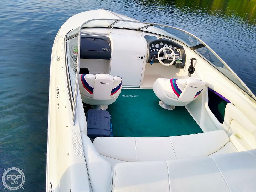 1997 Powerquest boat for sale, model of the boat is Precept 240 SX & Image # 6 of 40