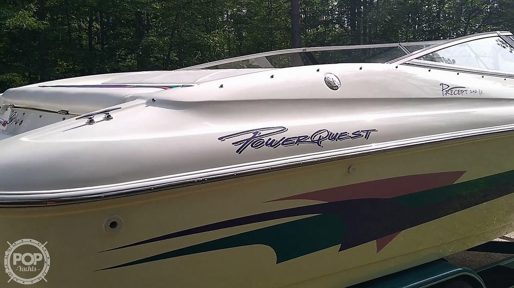 1997 Powerquest boat for sale, model of the boat is Precept 240 SX & Image # 23 of 40