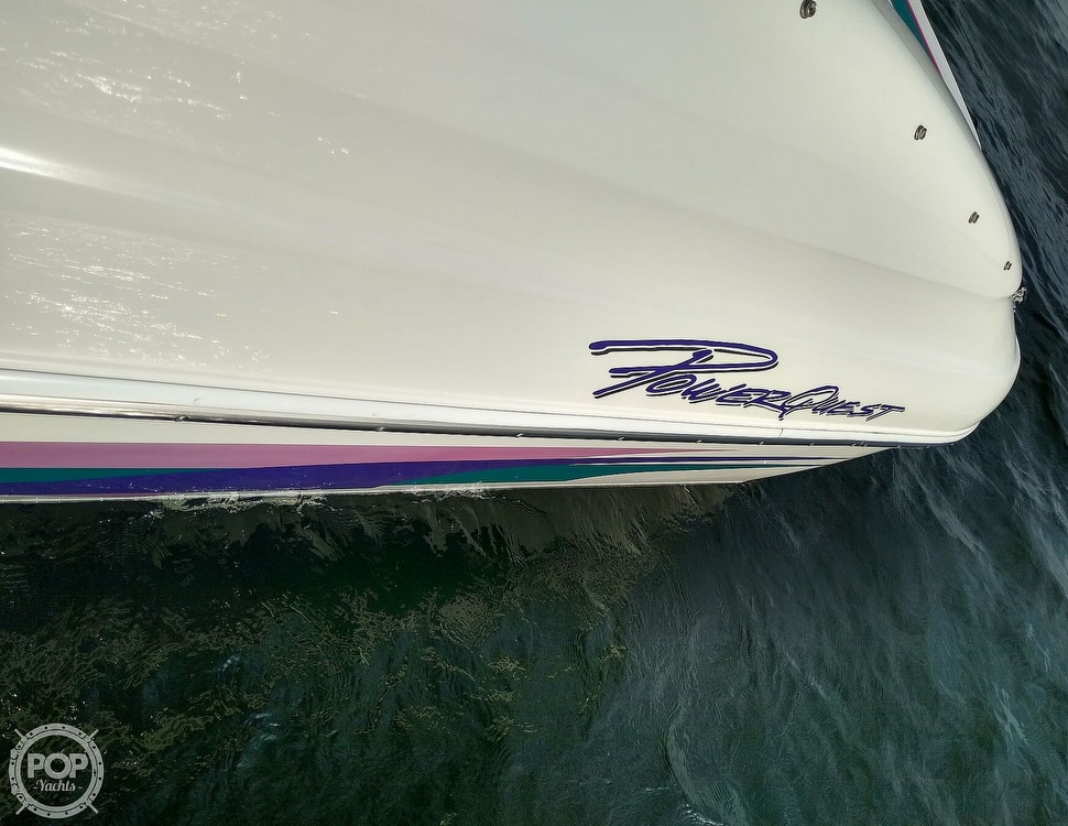 1997 Powerquest boat for sale, model of the boat is Precept 240 SX & Image # 25 of 40