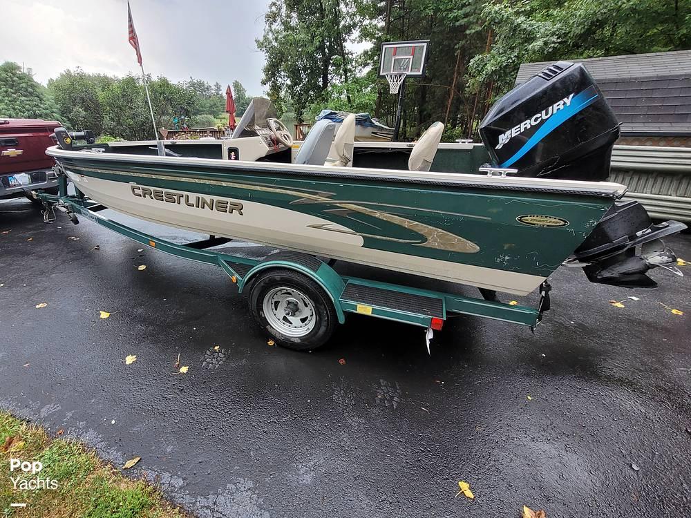 2000 Crestliner boat for sale, model of the boat is 1750 Fish Hawk SC & Image # 5 of 40