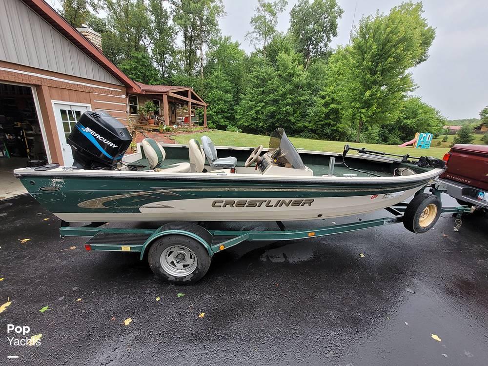 2000 Crestliner boat for sale, model of the boat is 1750 Fish Hawk SC & Image # 2 of 40