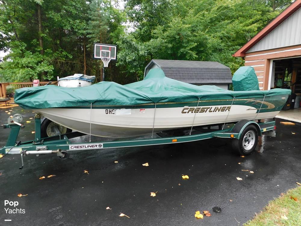 2000 Crestliner boat for sale, model of the boat is 1750 Fish Hawk SC & Image # 3 of 40