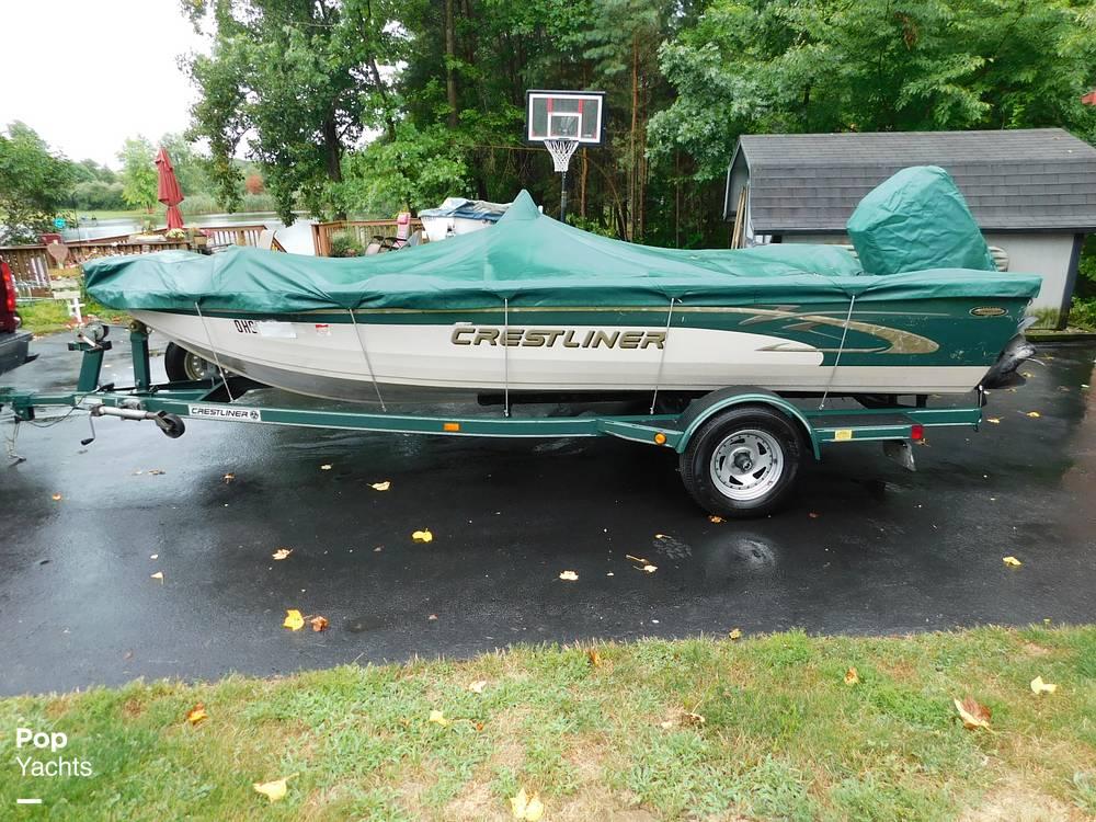 2000 Crestliner boat for sale, model of the boat is 1750 Fish Hawk SC & Image # 13 of 40