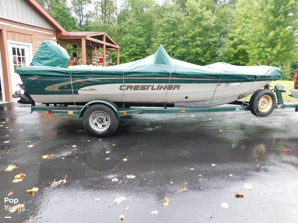 2000 Crestliner boat for sale, model of the boat is 1750 Fish Hawk SC & Image # 12 of 40