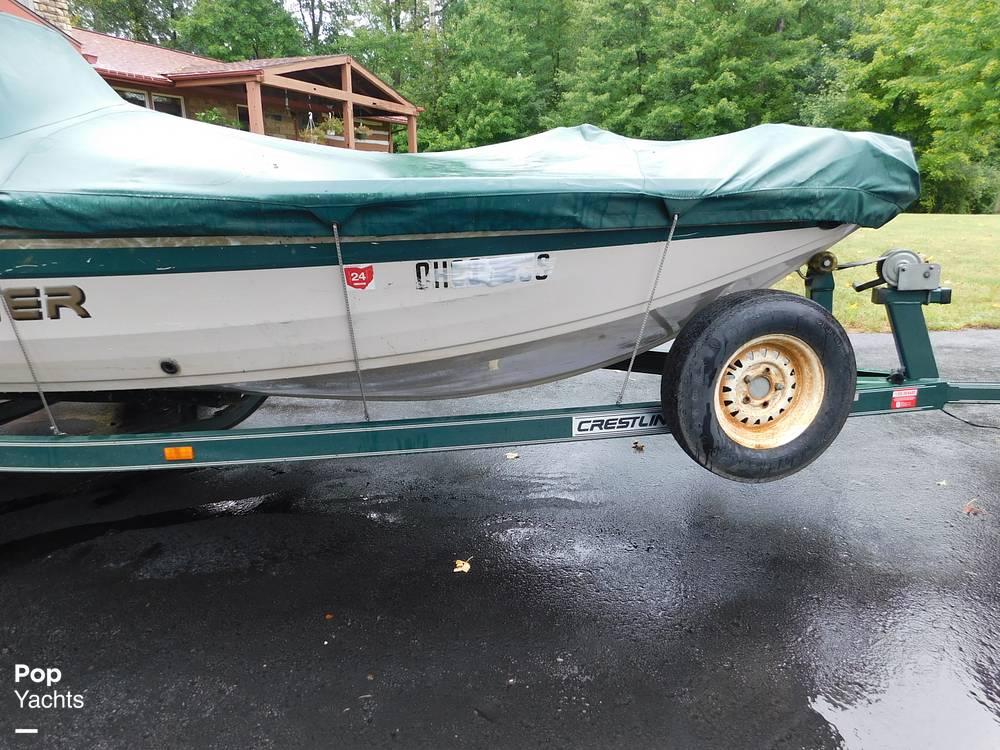 2000 Crestliner boat for sale, model of the boat is 1750 Fish Hawk SC & Image # 16 of 40