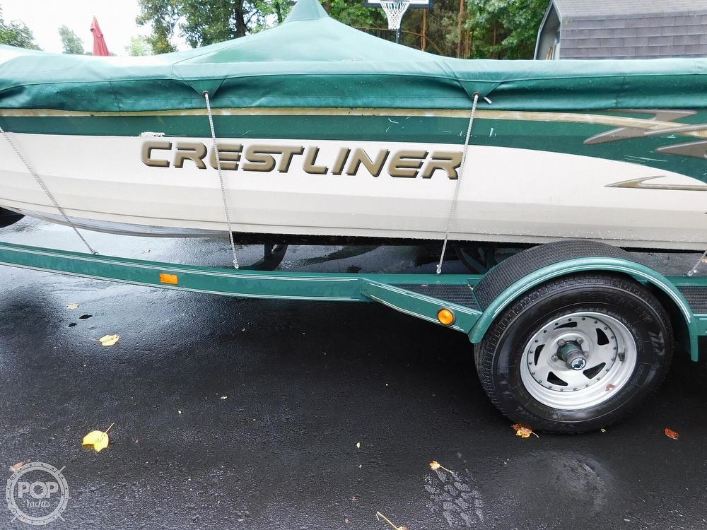 2000 Crestliner boat for sale, model of the boat is 1750 Fish Hawk SC & Image # 18 of 40