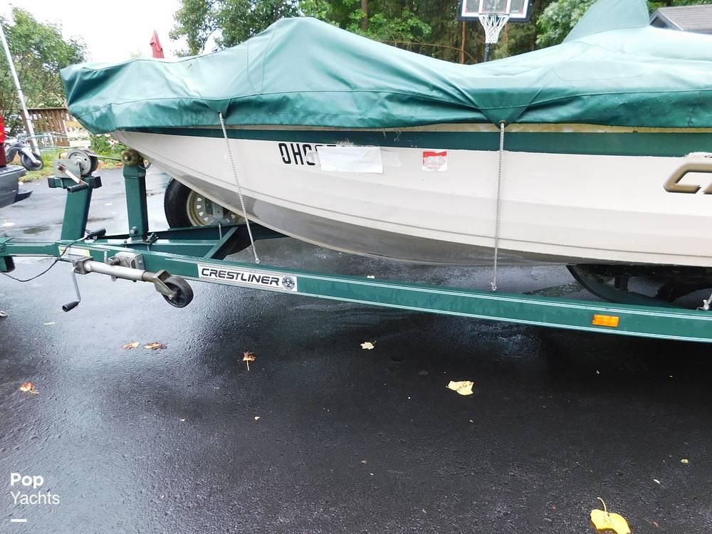 2000 Crestliner boat for sale, model of the boat is 1750 Fish Hawk SC & Image # 17 of 40