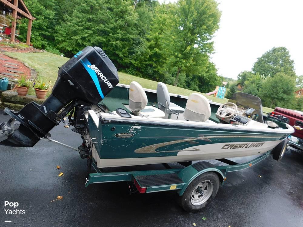 2000 Crestliner boat for sale, model of the boat is 1750 Fish Hawk SC & Image # 9 of 40