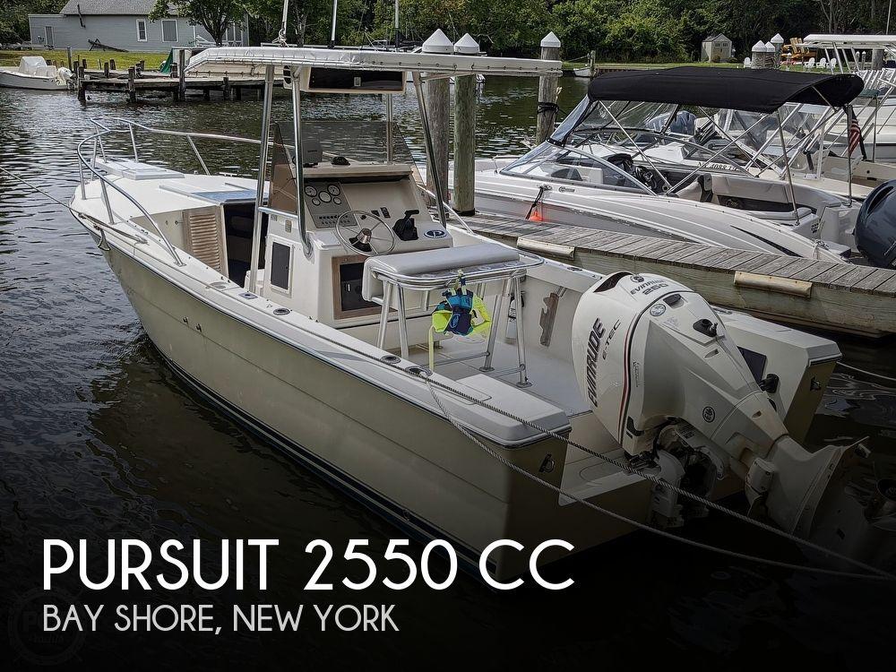 1990 PURSUIT 2550 CC for sale