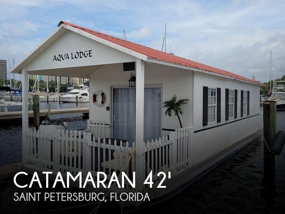 2007 Catamaran Cruisers boat for sale, model of the boat is 42x12 Aqua Lodge & Image # 1 of 40