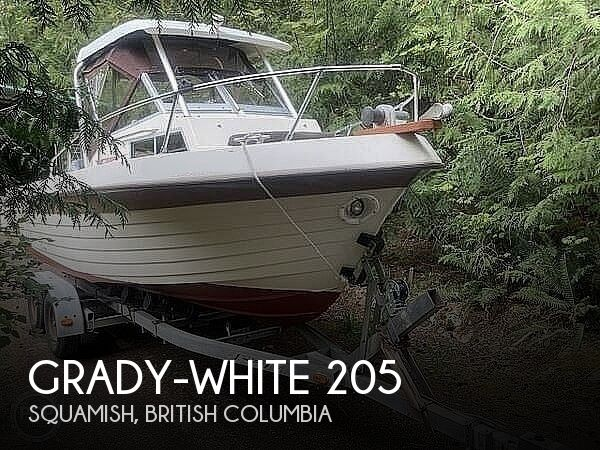 1981 Grady-White boat for sale, model of the boat is Gulfstream 205 & Image # 1 of 9