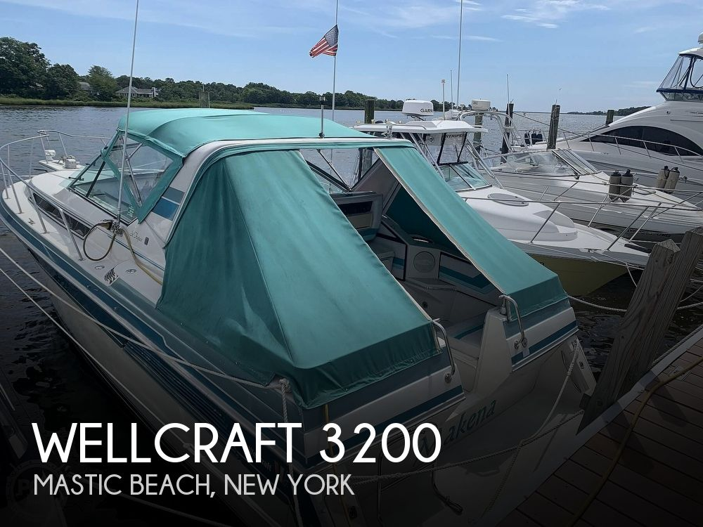 1989 Wellcraft boat for sale, model of the boat is 3200 St. Tropez & Image # 1 of 40