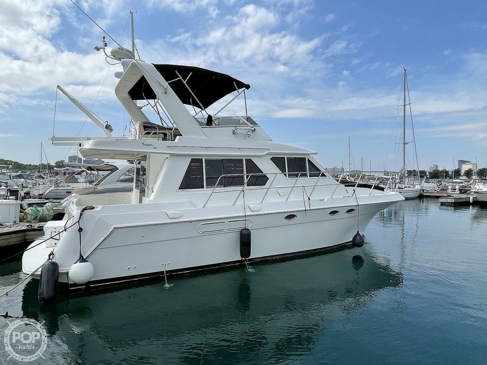 2006 Navigator boat for sale, model of the boat is 4200 Pilot House & Image # 2 of 40