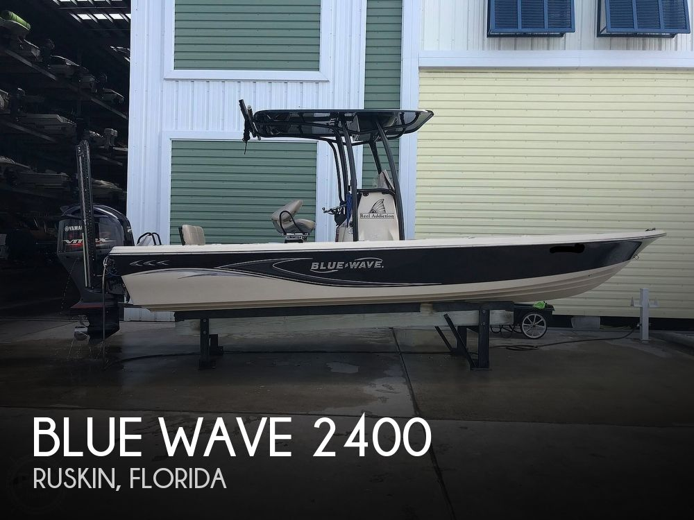 2016 Blue Wave boat for sale, model of the boat is 2400 Pure Bay & Image # 1 of 40