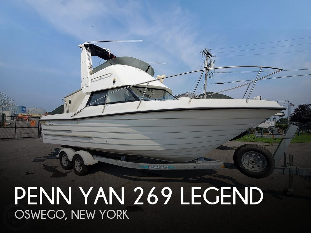 2001 Penn Yan boat for sale, model of the boat is 269 Legend & Image # 1 of 40