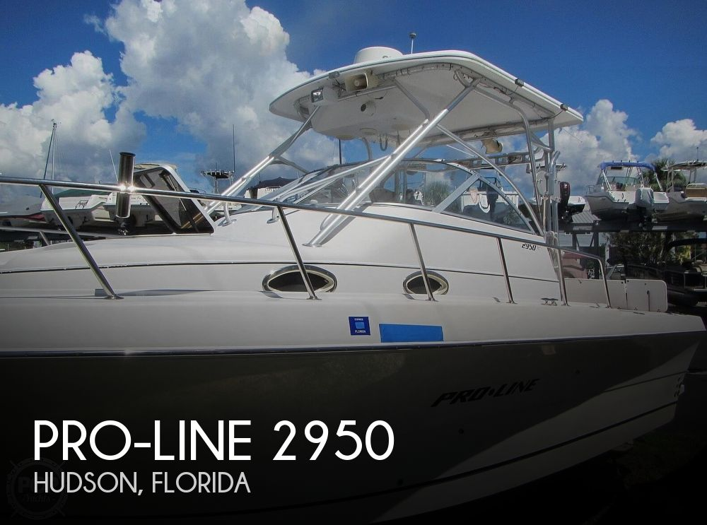 1999 Pro-Line boat for sale, model of the boat is 2950 Walkaround & Image # 1 of 40