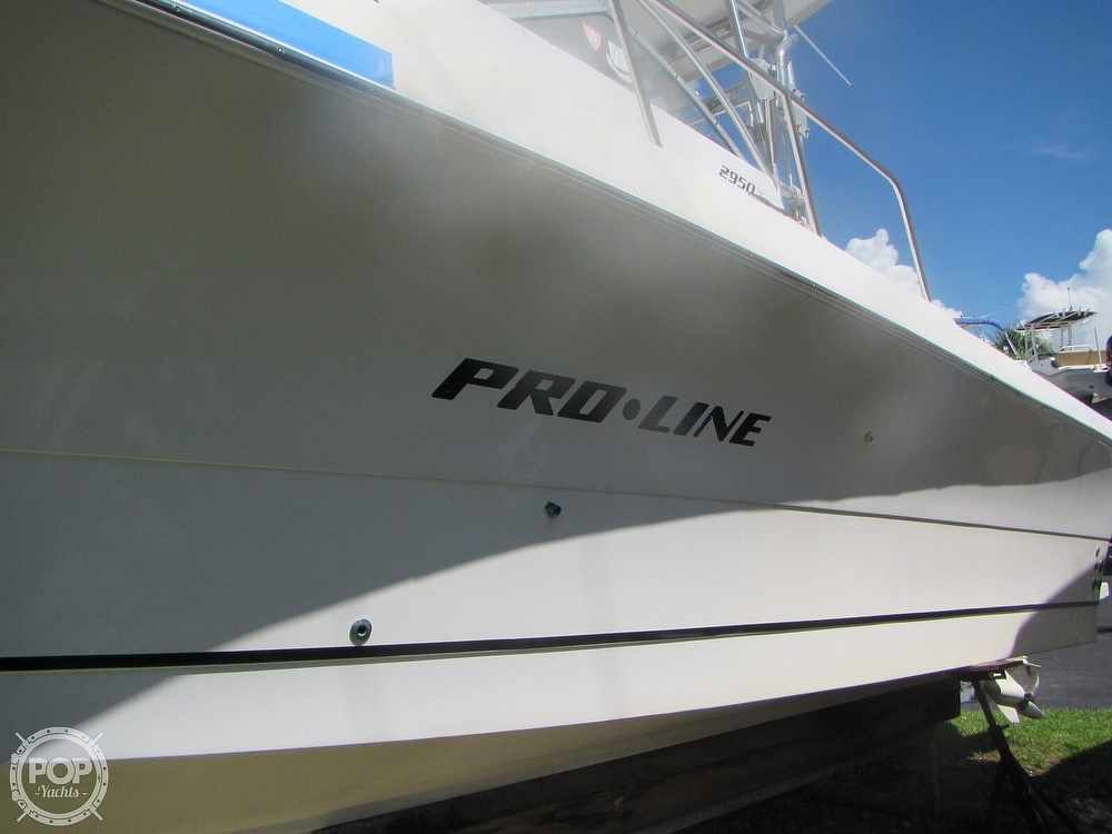 1999 Pro-Line boat for sale, model of the boat is 2950 Walkaround & Image # 35 of 40