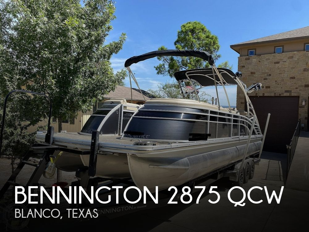 Used Bennington Boats For Sale in Texas by owner | 2016 Bennington Q28