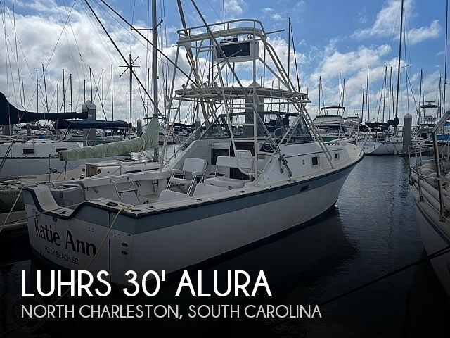 1987 Luhrs boat for sale, model of the boat is 30' Alura & Image # 1 of 40