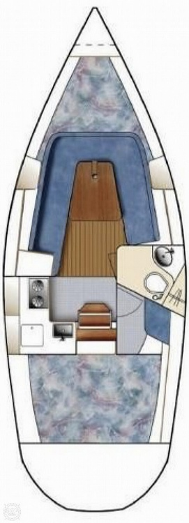2005 Catalina Yachts boat for sale, model of the boat is 270SD & Image # 36 of 37