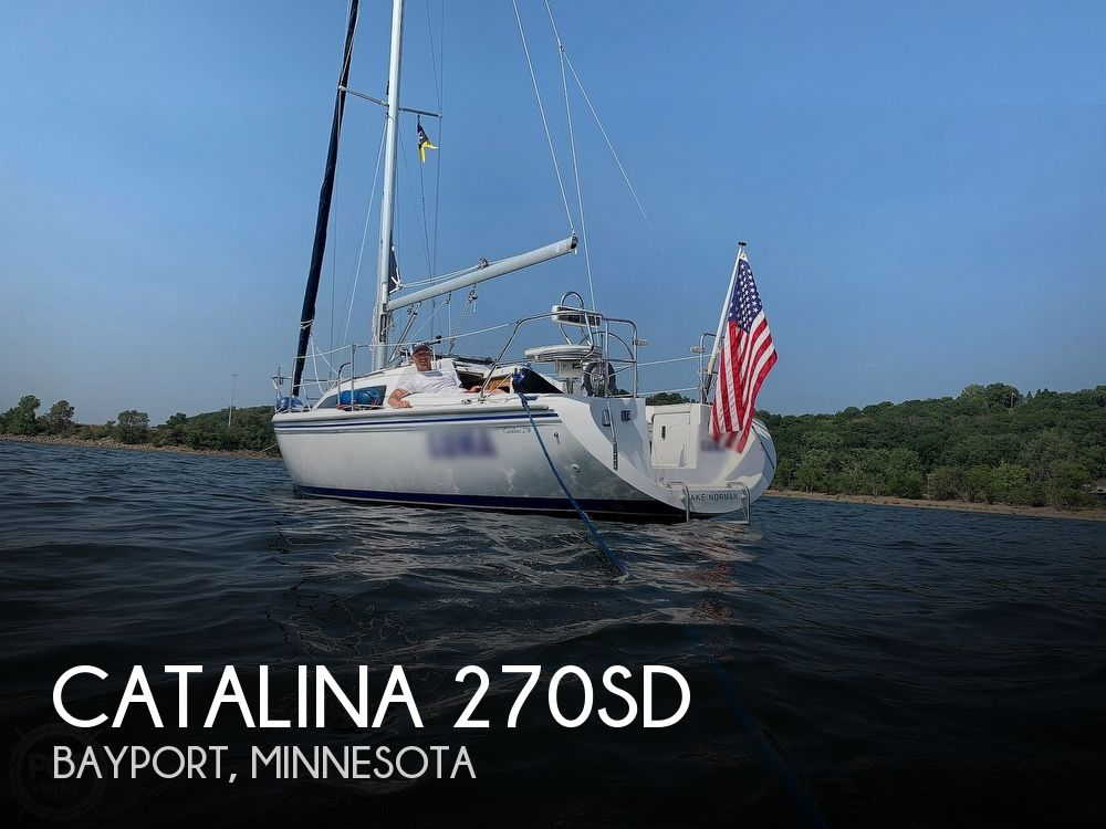 2005 Catalina Yachts boat for sale, model of the boat is 270SD & Image # 1 of 37