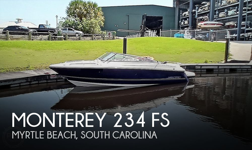 2008 Monterey boat for sale, model of the boat is 234 FS & Image # 1 of 40