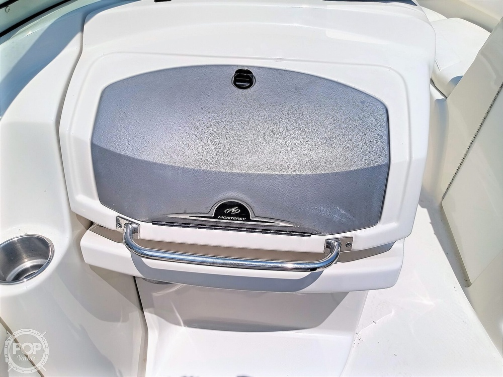 2008 Monterey boat for sale, model of the boat is 234 FS & Image # 40 of 40