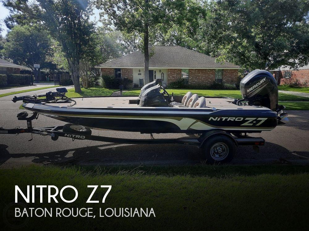 2014 Nitro boat for sale, model of the boat is Z7 & Image # 1 of 40