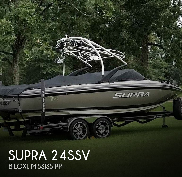 Used Power boats For Sale in Mississippi by owner   2010 Supra 24SSV