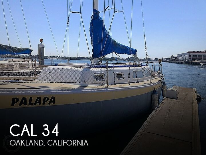 Used Cal Boats For Sale by owner | 1969 CAL 34