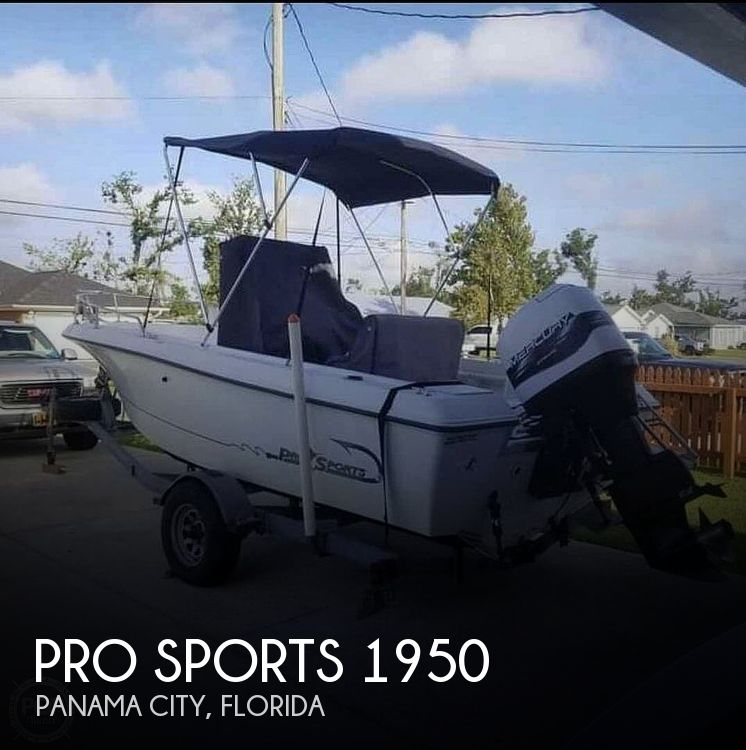 Used Pro Sports Boats For Sale by owner | 1998 Pro Sports 1950