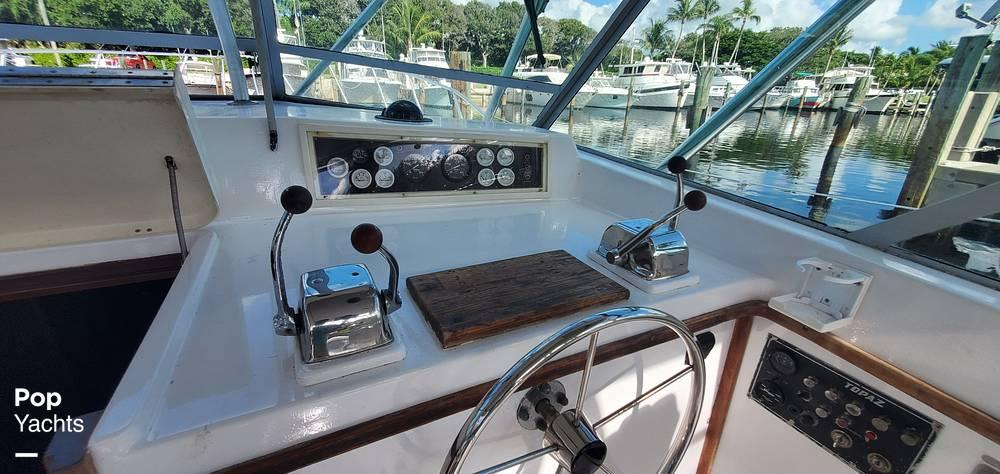 1987 Topaz boat for sale, model of the boat is 37 Sportfisherman & Image # 4 of 40