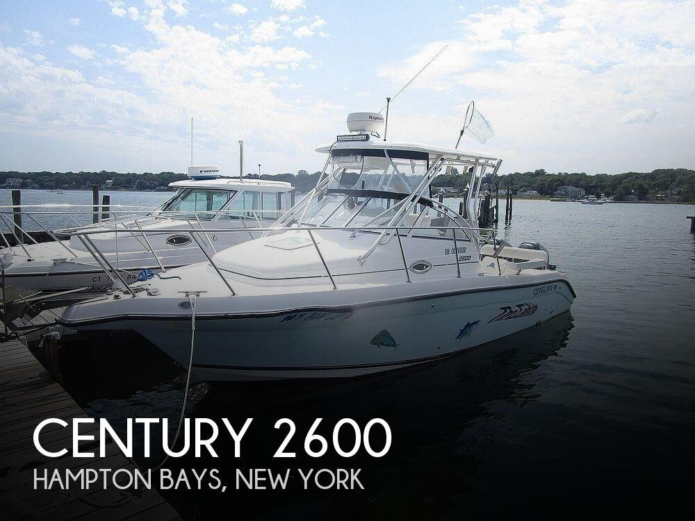 2005 CENTURY 2600 WALKAROUND for sale